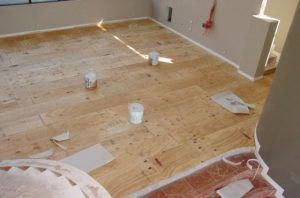 installing plywood flooring over concrete any homes today are built rh pinterest com