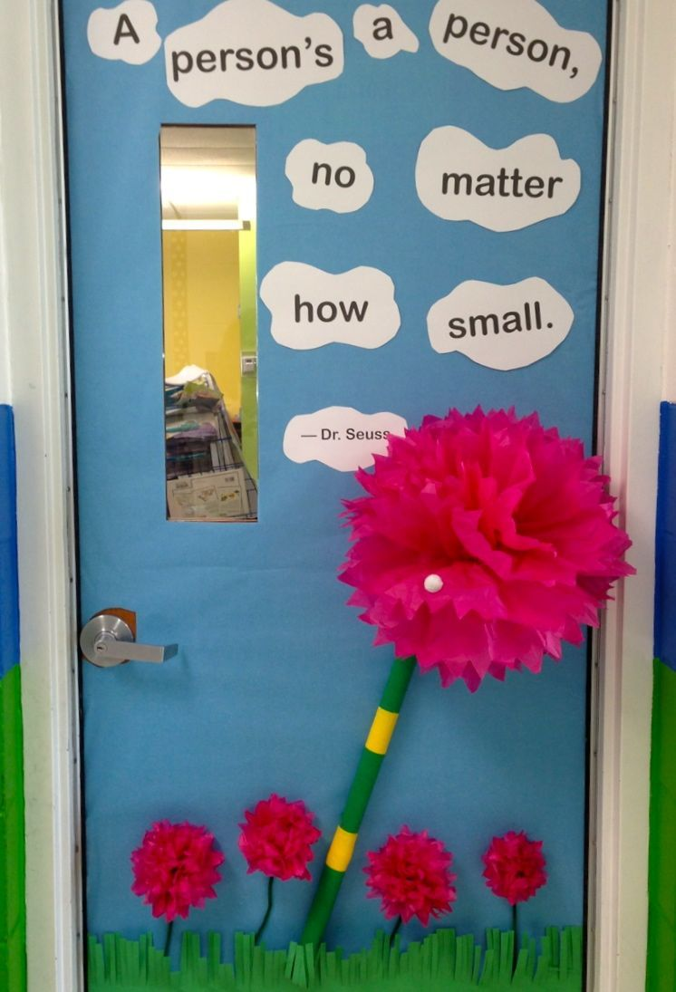 Dr. Seuss' Birthday.  Horton Hears a Who!   A person's a person, no matter how small.