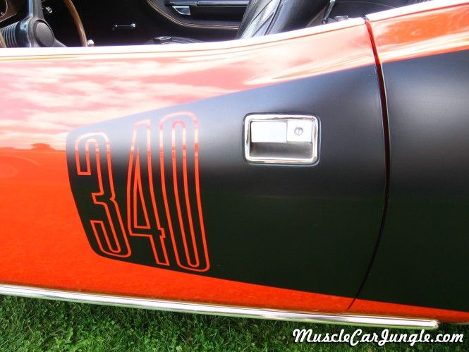1971 Barracuda 340 Convertible Decal