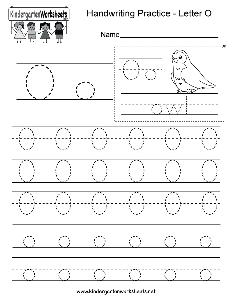 37+ Letter o writing worksheets Top
