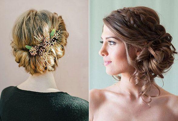peinados para bodas y recogidos peinados Pinterest