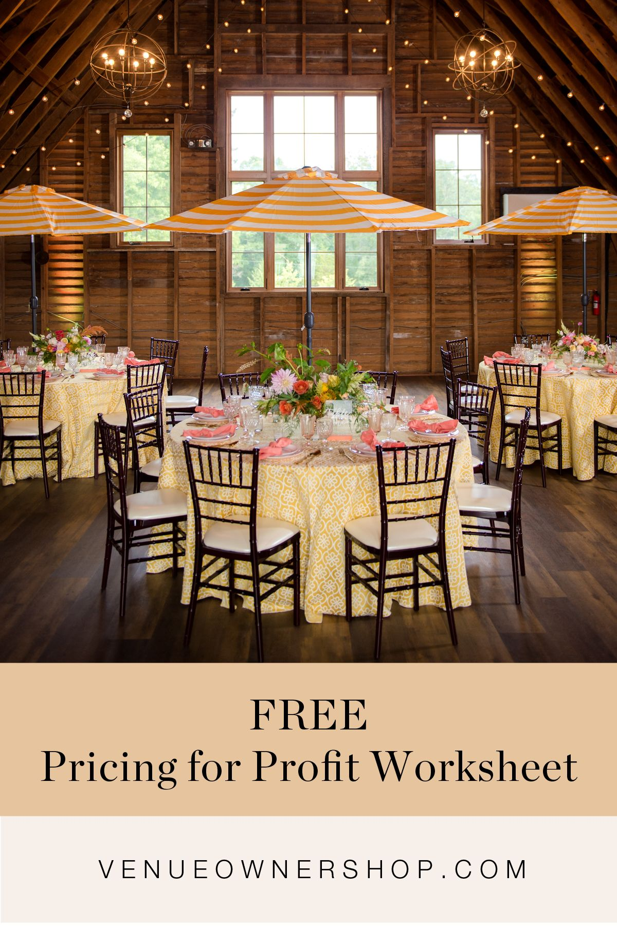Free Pricing For Profit Worksheet Preview