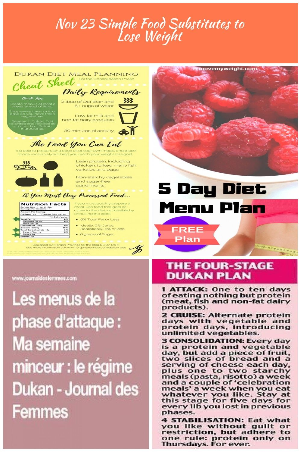 Meal Planning And Shopping Are Tough When On The Dukan Diet
