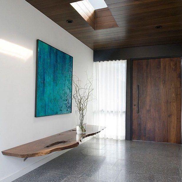 Stunning minimalist design. #hallway #home #homedecor #house #housedesign #decoration #homeideas #furniture #modern #eclectic #design #homestyling #interiordesign #interiordecorating Via @Pinterest @homeadore