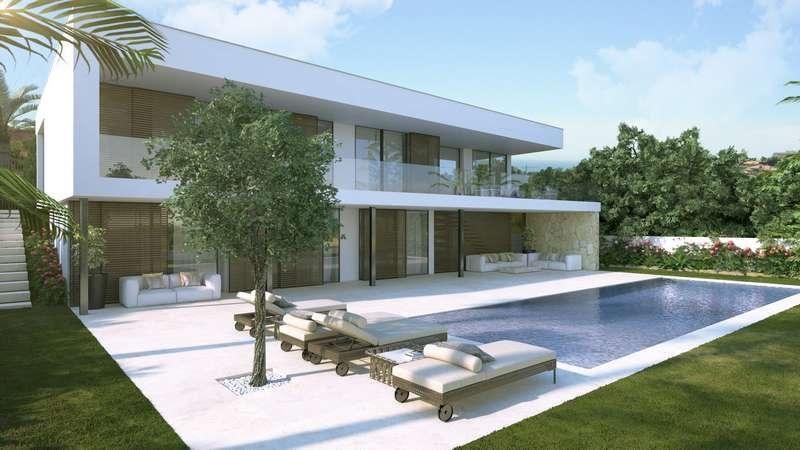 Villa moderne à vendre Marbella (Los Naranjos) | Architecture maison ...
