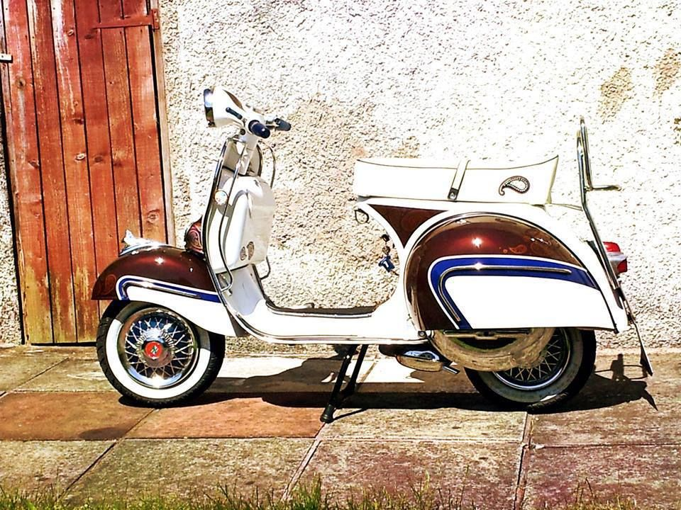 vespa 160 gs mod style scooter girl love pinterest. Black Bedroom Furniture Sets. Home Design Ideas