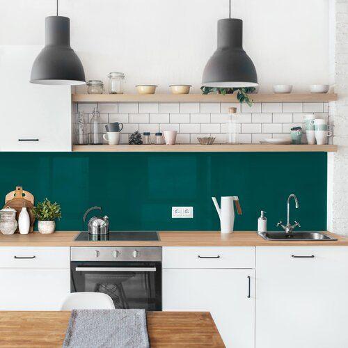 Ebern Designs PVC Spritzschutzpaneel Selbstklebend Aymeline | Wayfair.de #kitchensplashbacks