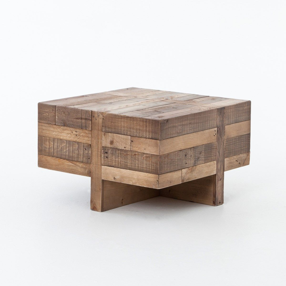 Angora Reclaimed Wood Square Side Table Square Side Table Wood Coffee Table Wood Square Side Table [ 1200 x 1200 Pixel ]