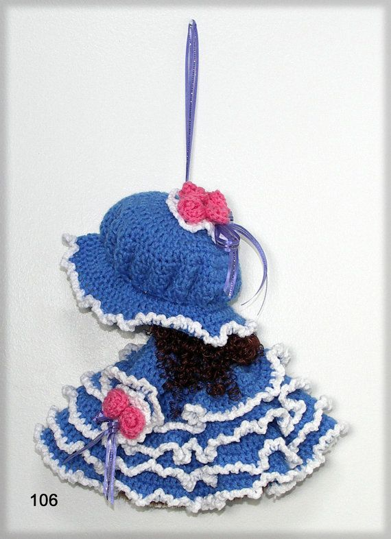 Sunbonnet Sue 12 Broom Doll