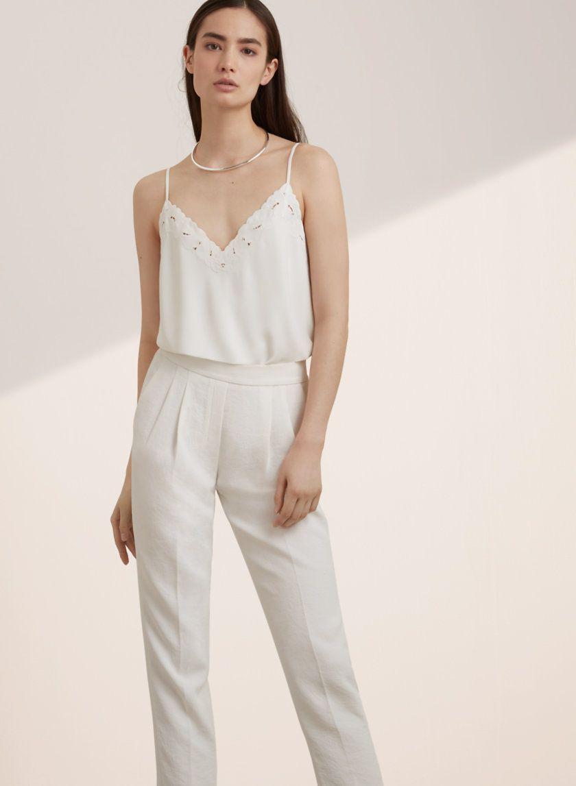 Babaton everly camisole aritzia style pinterest for Garderobe 0286