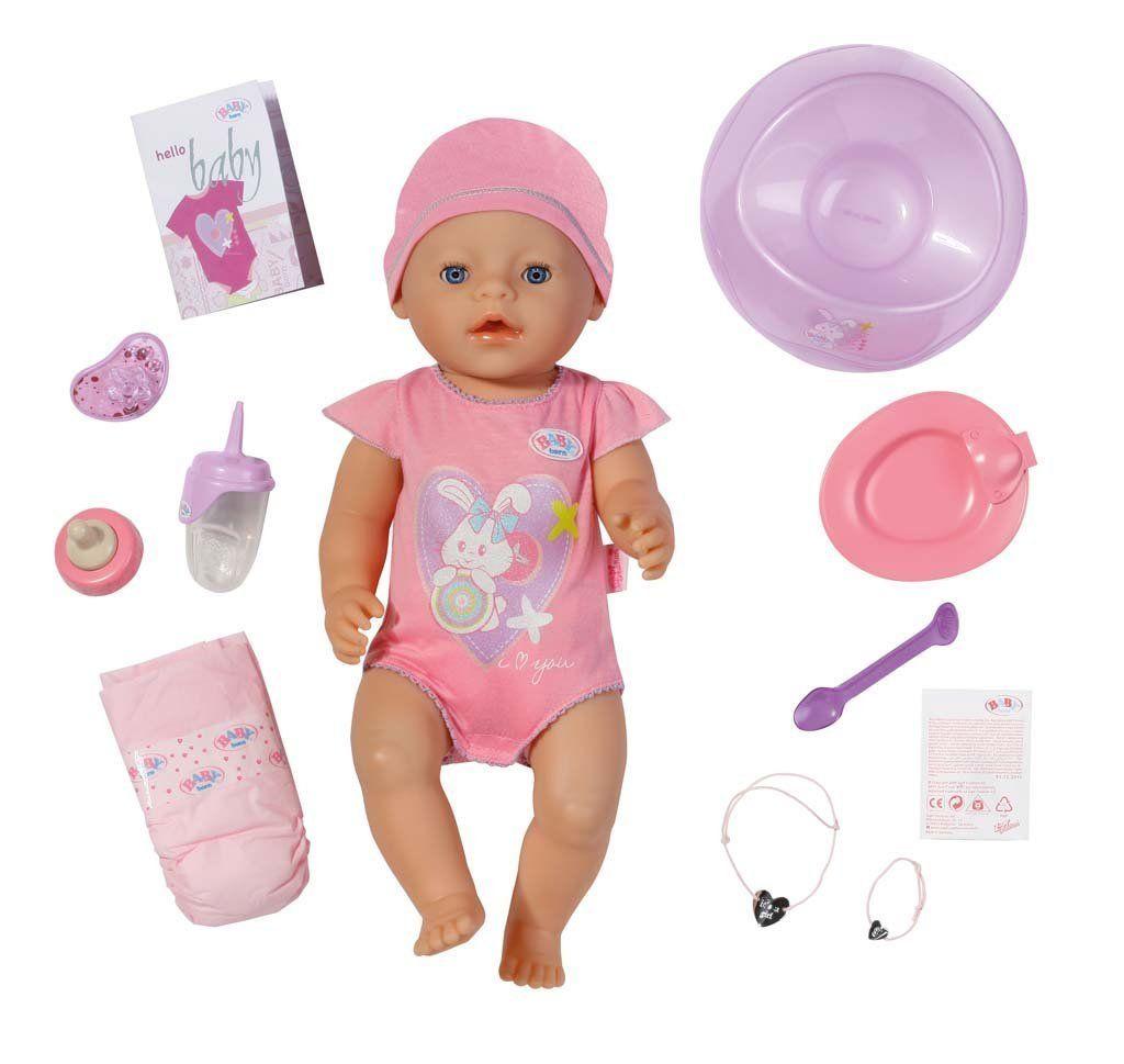 zapf creation 819197 baby born interactive puppe spielzeug pinterest. Black Bedroom Furniture Sets. Home Design Ideas
