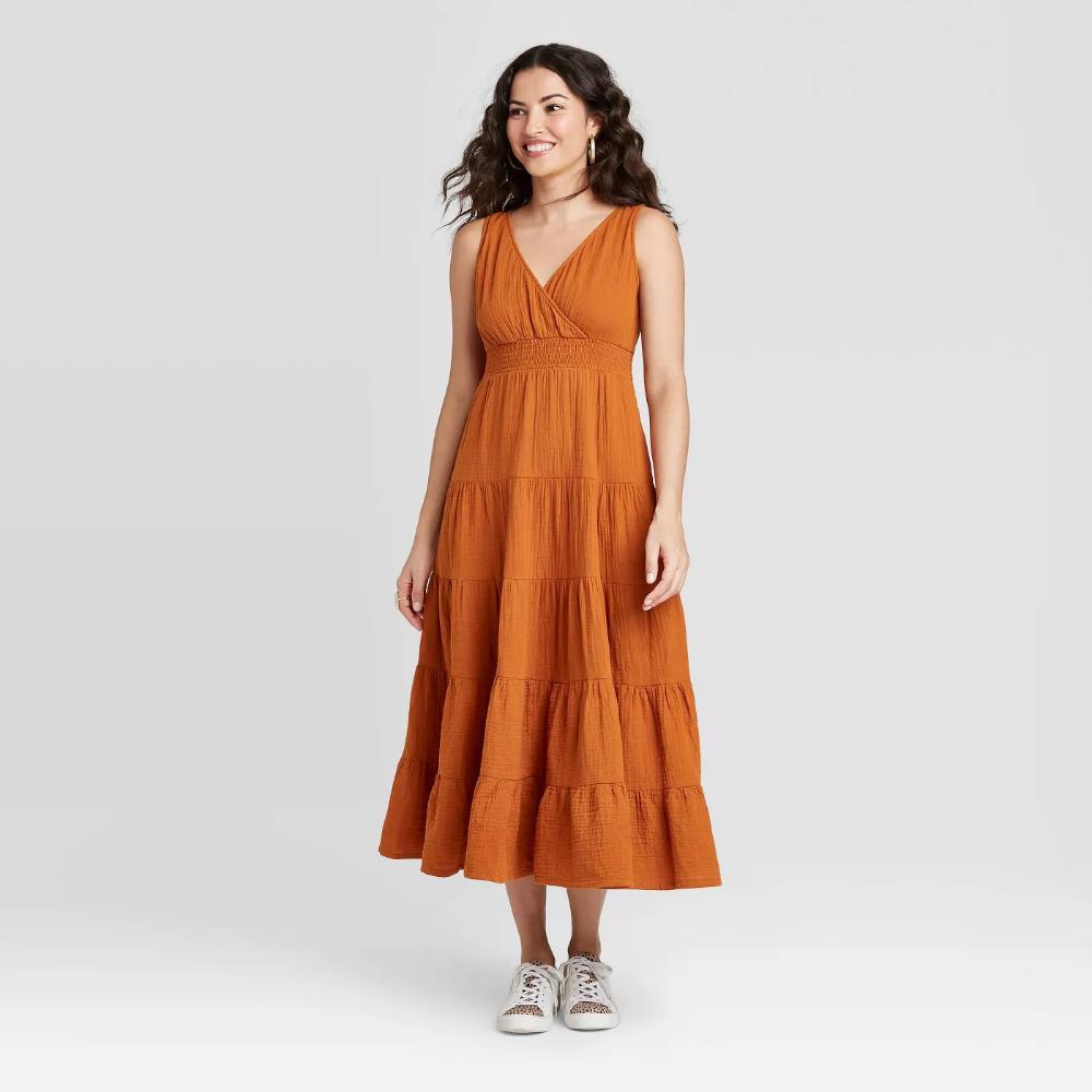 Women S Sleeveless Tiered Dress Universal Thread Target Tiered Dress Dresses Womens Sleeveless Dress [ 1000 x 1000 Pixel ]
