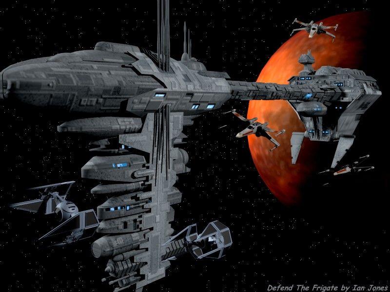 Star Wars - Nebulon B Frigate.