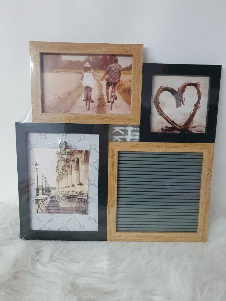 Bilderrahmen Fur Drei Fotos Und Ein Rahmen Fur Liebe Worte