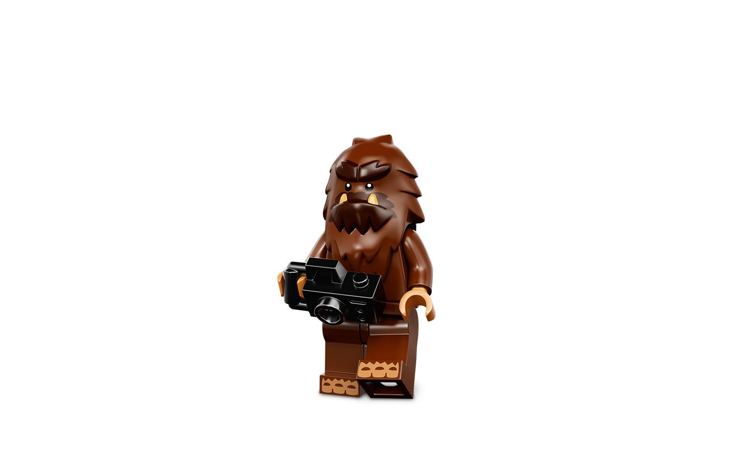 Pies cuadrados - Personajes - Minifigures LEGO.com