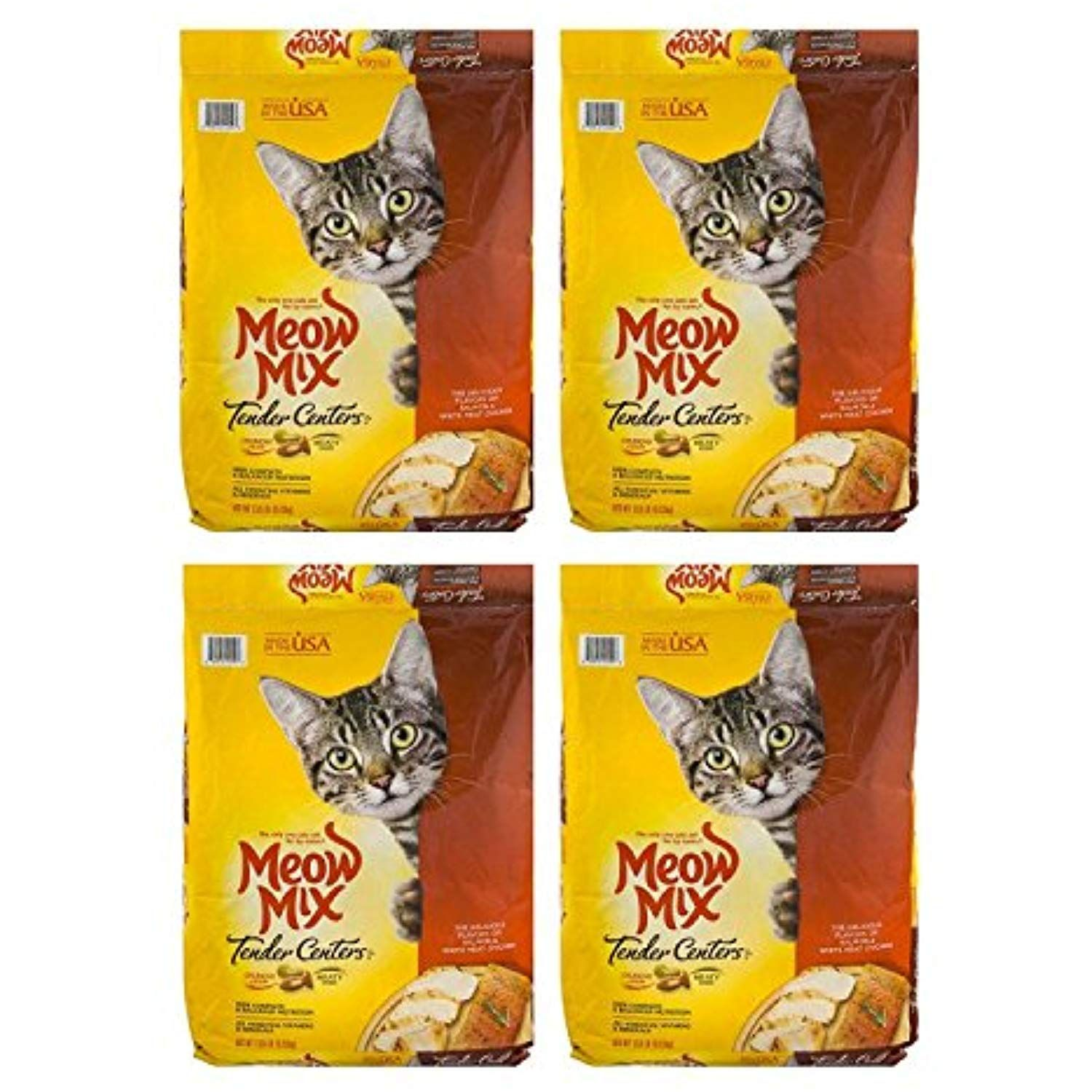 Meow Mix Tender Centers Dry Cat Food 4 Pack Of 13 5 Lb Learn More By Visiting The Image Link This Is An Affiliate Link Cat Dry Cat Food Cat Food Food