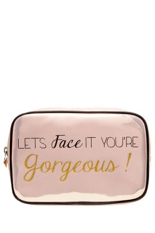 6f41cba059 Buy Face IT Slogan Bag from the Next UK online shop