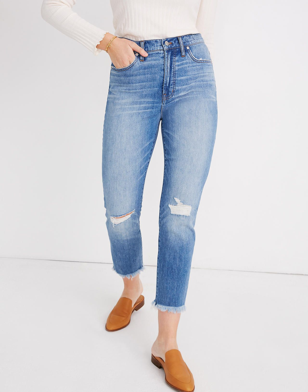 b682cc5505 The Perfect Vintage Jean in Parnell Wash: Comfort Stretch Edition in ...