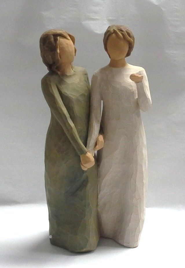 Willow Tree Quot My Sister My Friend Quot Figurine By Susan Lordi