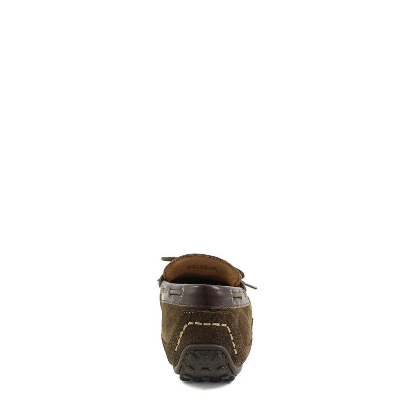 Mens Florsheim Oval Tie MediumWide Loafer Mushroom Leather