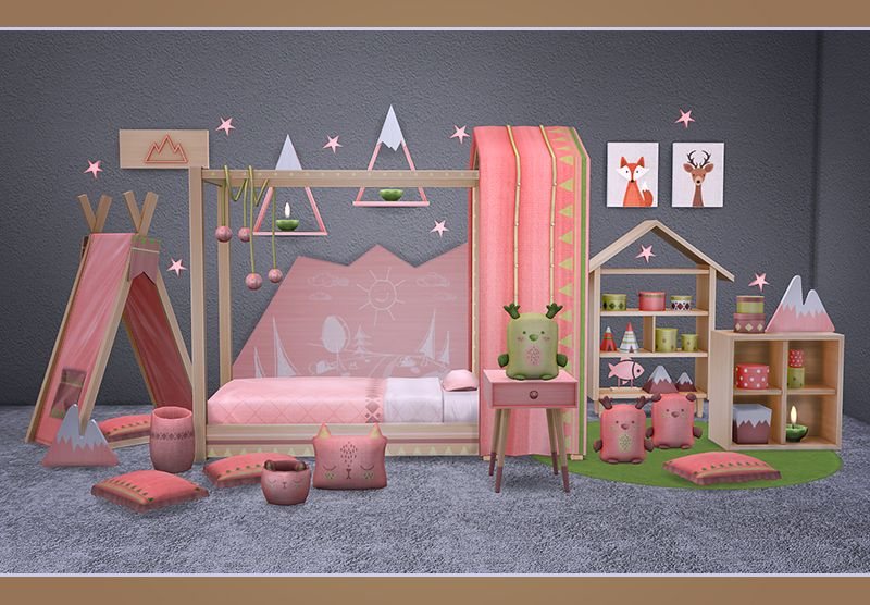 Melina Toddlers Room Sims 4 The Sims Casa Sims