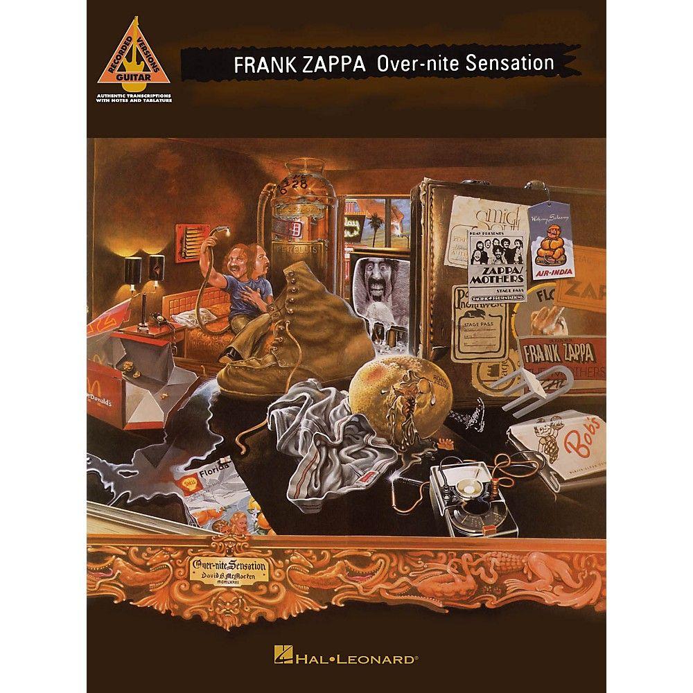 Hal leonard frank zappa overnite sensation guitar tab