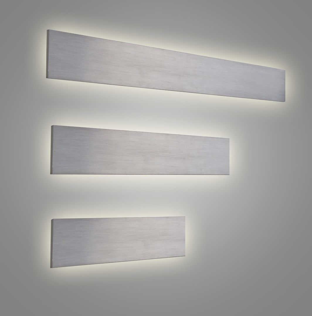 Indirect Wall Lighting linear led vanity lights or wall sconces. direct/indirect lighting