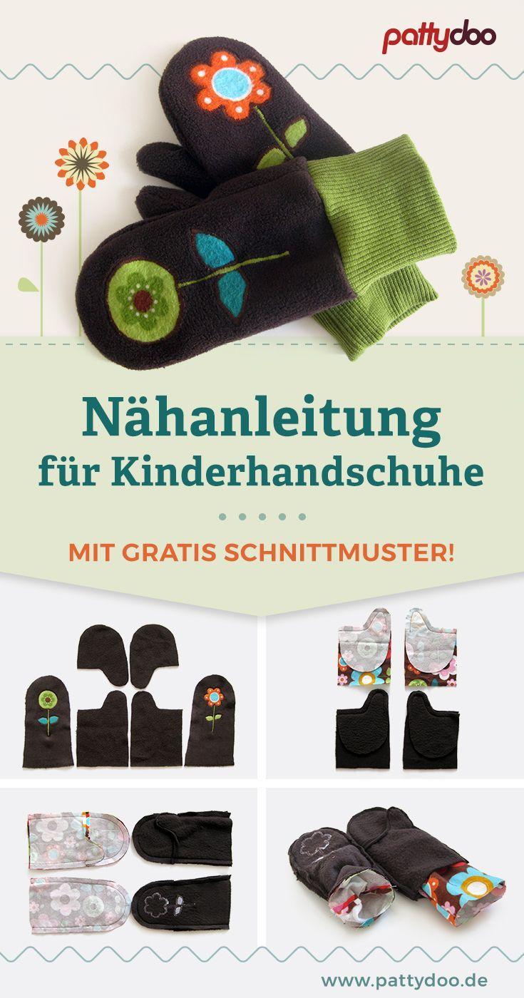 Photo of Schnittmuster Kinderhandschuhe in 3 Größen » kostenlos