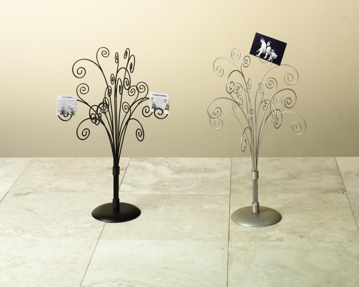Tabletop Display Tree | DisplayCollections.com   Table Top Note Card Holder  Tree