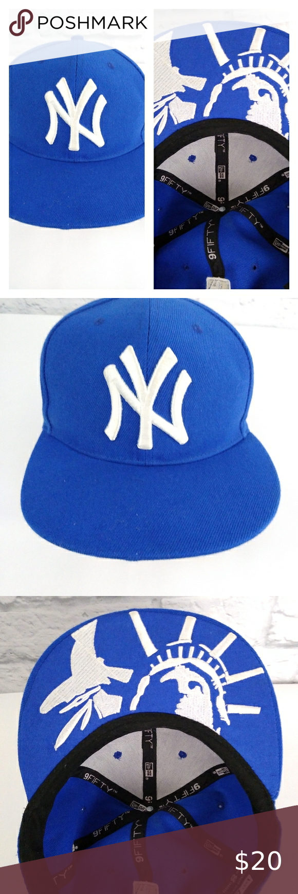 New Era Nine 50 New York Yankees Snap Back Hat New Era Snap Backs New York Yankees