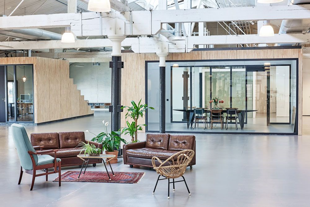 Fairphone Fashions New HQ With Sustainable Materials Interior Design