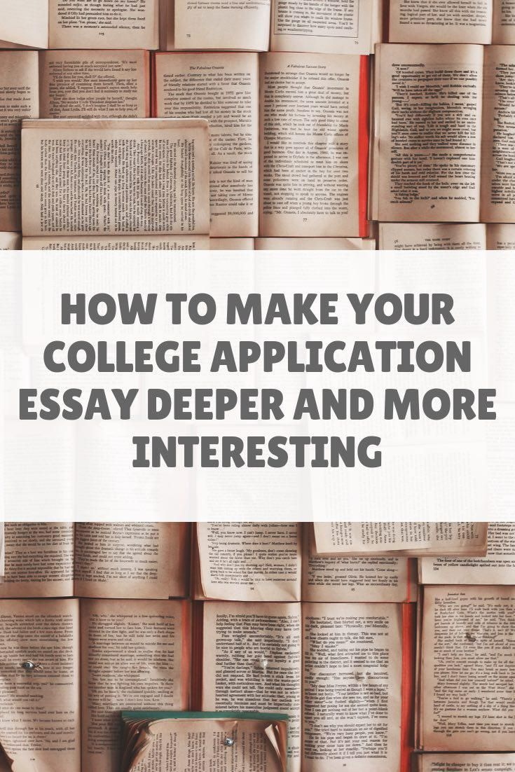 How to write an admission essay book