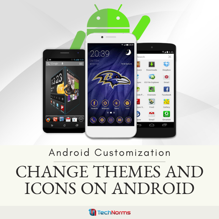 Android Customization How to Change Themes and Icons on