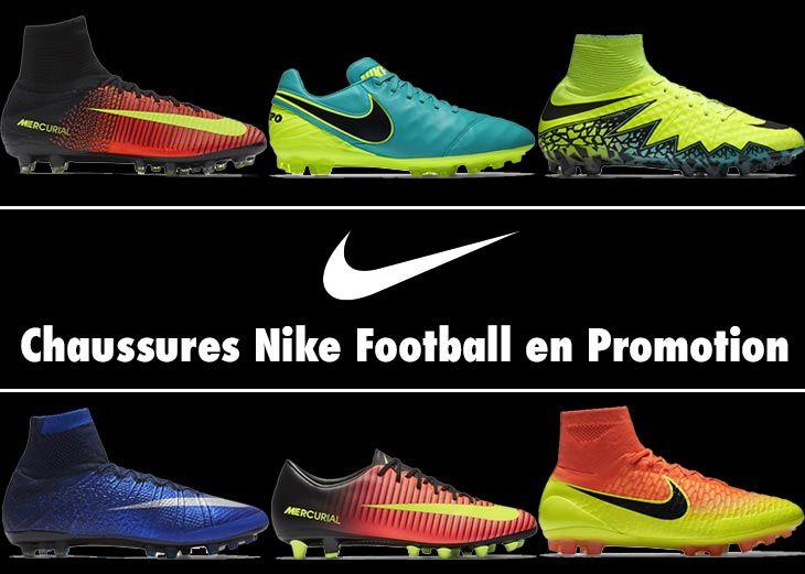 6897ce011a0d 12 Chaussures de Football Nike pour Terrain Synthétique en Promotion ...