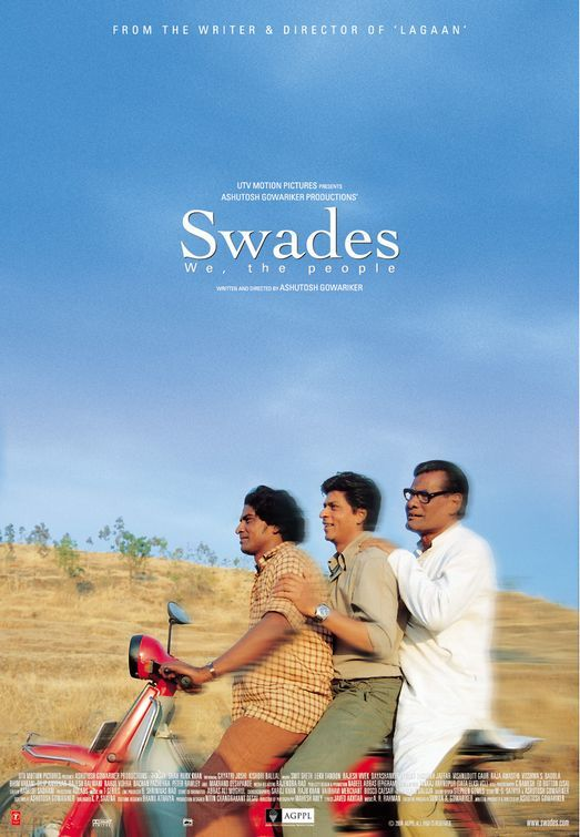 Swades With Images Best Bollywood Movies Bollywood Posters Srk Movies