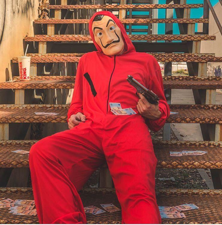 Máscara De Dalí De La Casa De Papel Comprar Online Sobres De Papel Las Casas De Papel Casa De Papel
