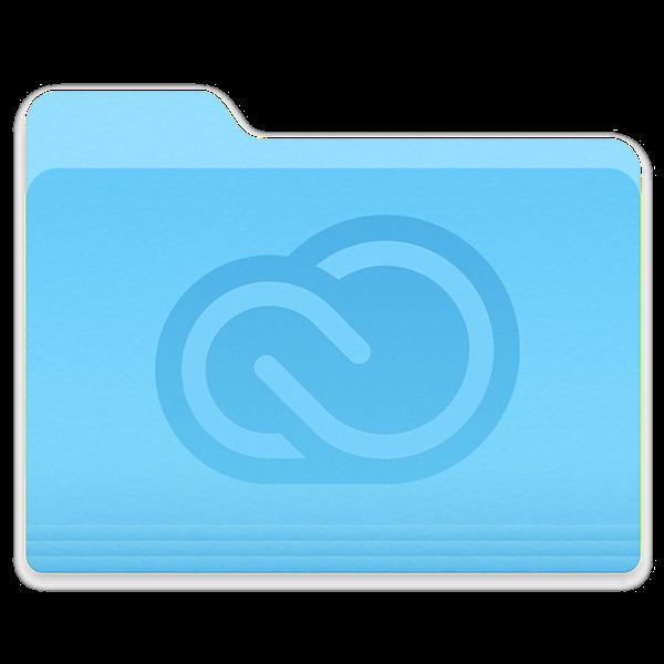 Adobe Creative Cloud Folder Icon For Os X Yosemite On Behance Adobe Creative Cloud Creative Cloud Folder Icon
