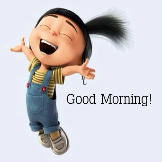 How To Say Good Morning Friend In Korean : Agnes from despicable me good morning quote