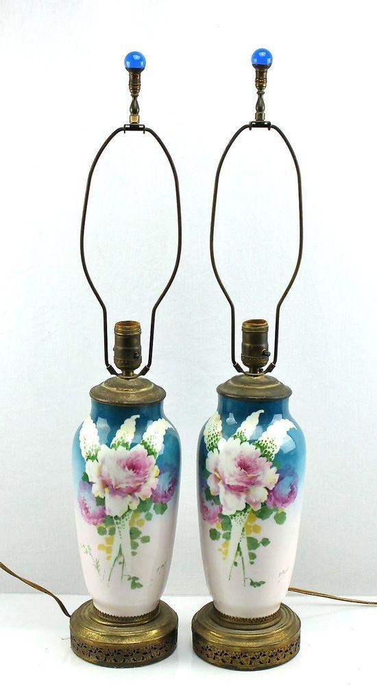 Limoges Lamps Antique | Best 2000+ Antique decor ideas