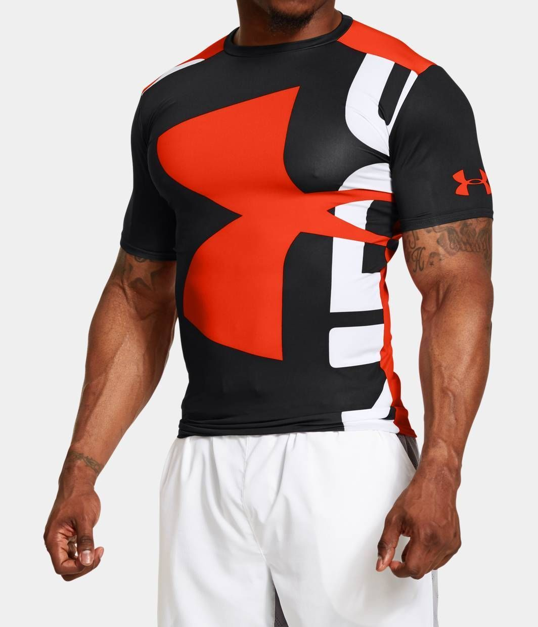 083fec4da94 Remera hombre Under Armour Men s UA Branded HeatGear Compression Short  Training Shirt Talle XL