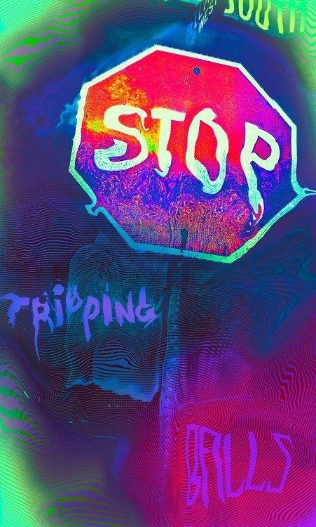 Acid Wallpaper Vape Hippie Trippy Tumblr
