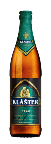 Klášter Ležák - is a delicious harmonious beer with a fresh taste and a balance between full taste and bitterness. The beer is not pasteurised, i.e. heat-processed, so the taste is the same as in the brewery cellars in the rock.