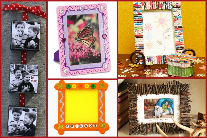 Top 5 Photo Frame Craft Ideas For Kids Photo Frame Crafts