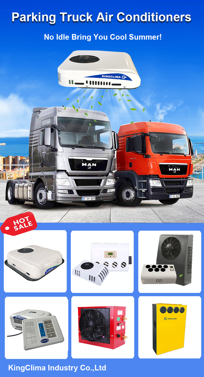 Kingclima Your Best Manufacturer And Provider Of Cooling Solutions For All Kinds Of Trucks And Vans Know Us More At Air Conditioning System Trucks Truck Driver