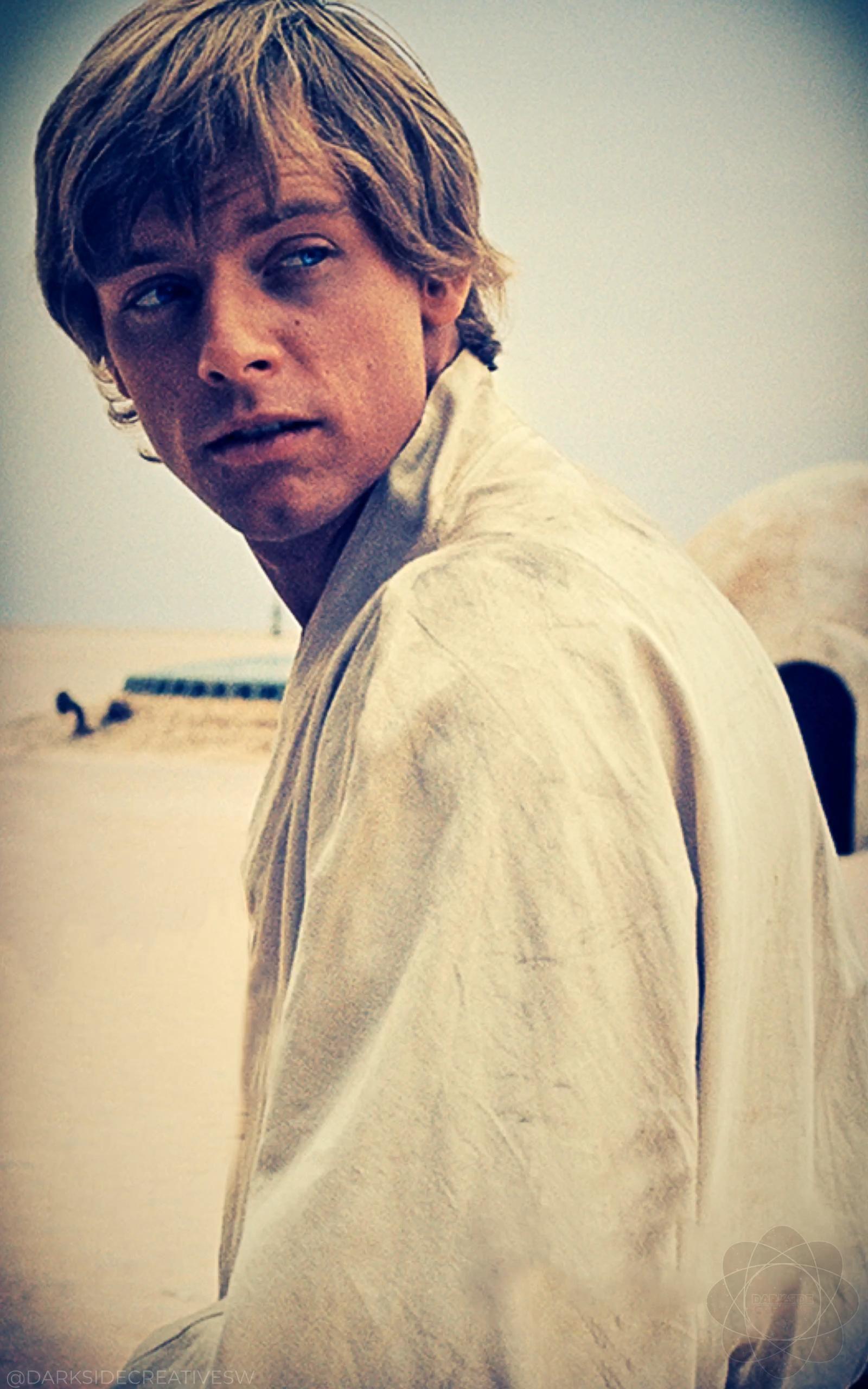 I'm Luke Skywalker...