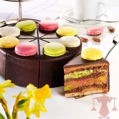 Torte Online Bestellen Mit Macarons Kuchenshop Von Schrader Torten Und Kuchen Online Bestellen Paul Schrader Nachspeise Macaron Kuchen