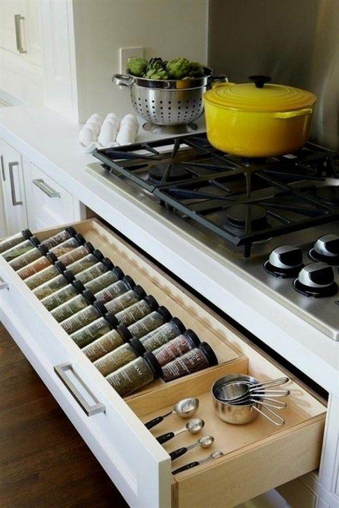 ✔50 genius kitchen storage and organization ideas 49 #kitchenstorage