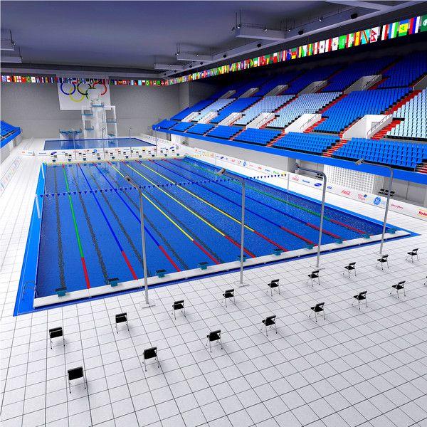 3d Max Swimming Diving Pool Swimming Pool Plan Indoor Swimming Pool Design Swimming Pool Designs