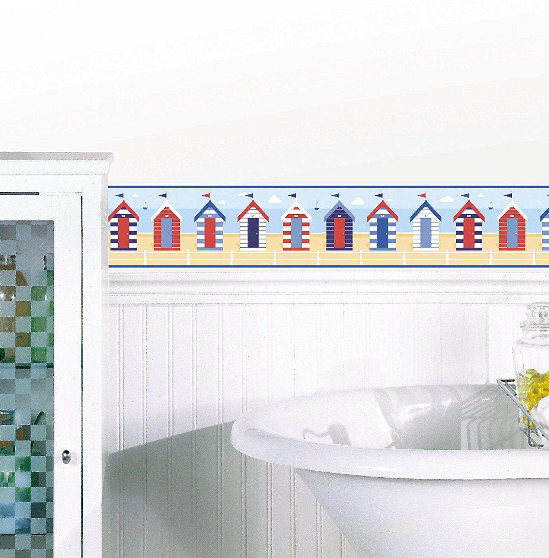 BHF FDB50021 Ceramica Beach Huts MultiColour Kitchen and