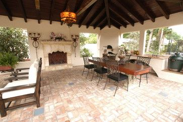 Cortland Avenue - mediterranean - patio - other metro ... on Living Accents Cortland Patio Set id=13910